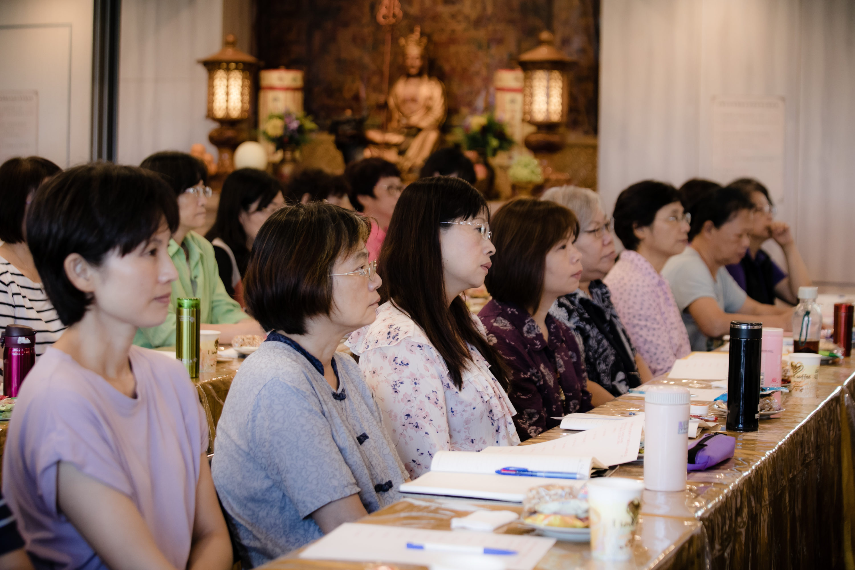 佛學講座-專注聆聽